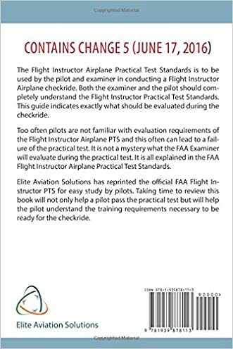 Flight Instructor Practical Test Standards For Airplane (FAA-S