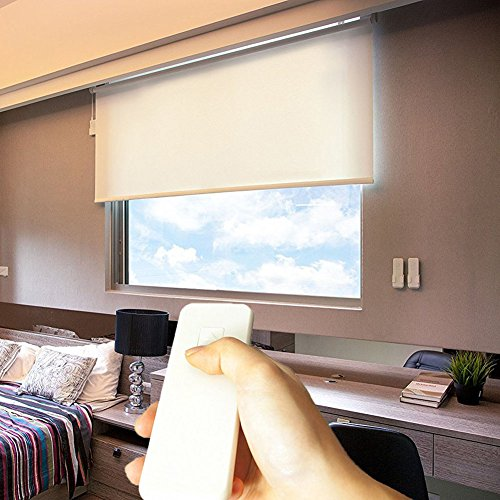 Cordless Motorized-Remote Roller Window Shades (Sunscreen) review