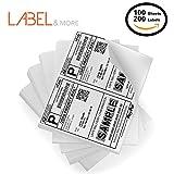 Shipping Label Printer - Half Sheet Self Adhesive Shipping Labels 5-1/2