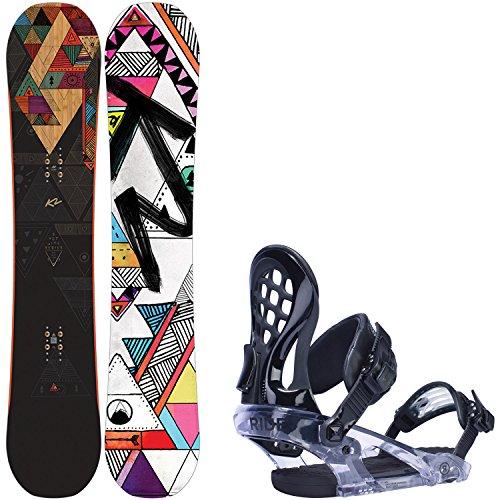 K2 Spot Lite 144cm Womens Snowboard + Ride KS Bindings - Fits US Wms Boots Sized: 6,7,8,9,10