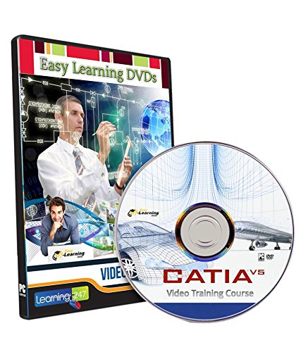 easy learning catia v5 video training tutorial course dvd amazon rh amazon in CATIAV5 Drawings with Dimensions catia v5 training guide