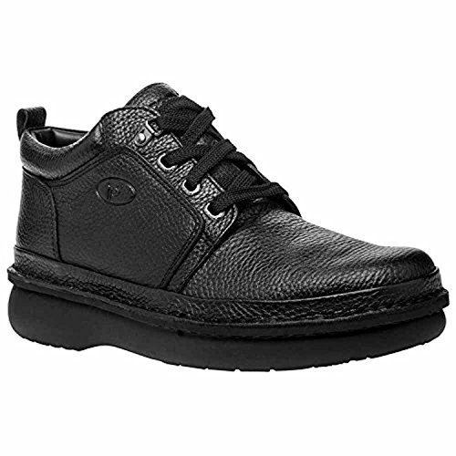 Propet Mens Villager Mid Shoe Nero 8 X (3e) E Oxy Pulitore Bundle
