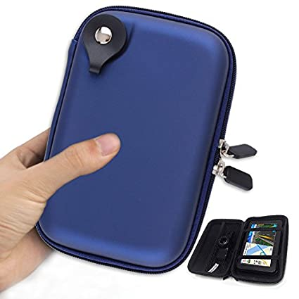 uk availability 9bf7e 87cbe 5 Inch Hard Carrying Case Portable Hard Drive Case Hard GPS Bag with ...