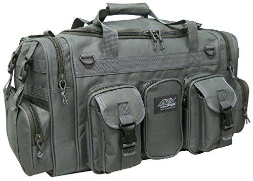 "Nexpak 22"" 2600cu.in Tactical Duffel Range Gear Bag TF122 Gunmetal Grey"