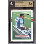 ce4b47e9feb 1989 topps traded  83t BARRY SANDERS detroit lions rookie BGS 9.5 (9.5 9.5.