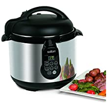 Salton Electronic Pressure Cooker, 5-Litre, Stainless Steel