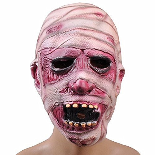 Bello Luna Zombie Headgear Halloween Horror Mummy Mask Decoration Cosplay (Zombie Belle Costume)