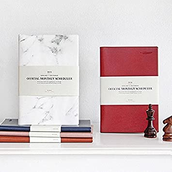 Amazon.com : 2018 Dated Diary Notebook Journal Paper Planner ...