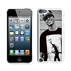 Popular iPod Touch 5 Case ,August Alsina 1 White iPod Touch 5 Screen Case Hot Sale And Fashionable Designed Cover Case