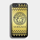 cevron versace gold for Iphone Case (iPhone 5/5s Black)