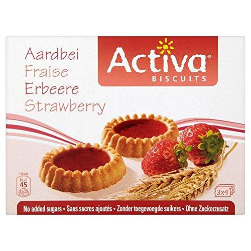 Activa Sugar Free Strawberry Biscuits (150g)
