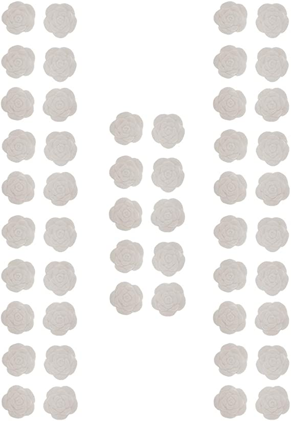 Kloware 50ピース/個ホワイトアロマFraanceエッセンシャルオイルディフューザーの香りストーンパーティー