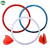 Silicone Sealing Ring for Instant Pot Accessories 8 Quart Sweet...