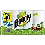 Bounty 12 big rolls = 16 regular rolls Select-A-Size Big Rolls Paper Towels,