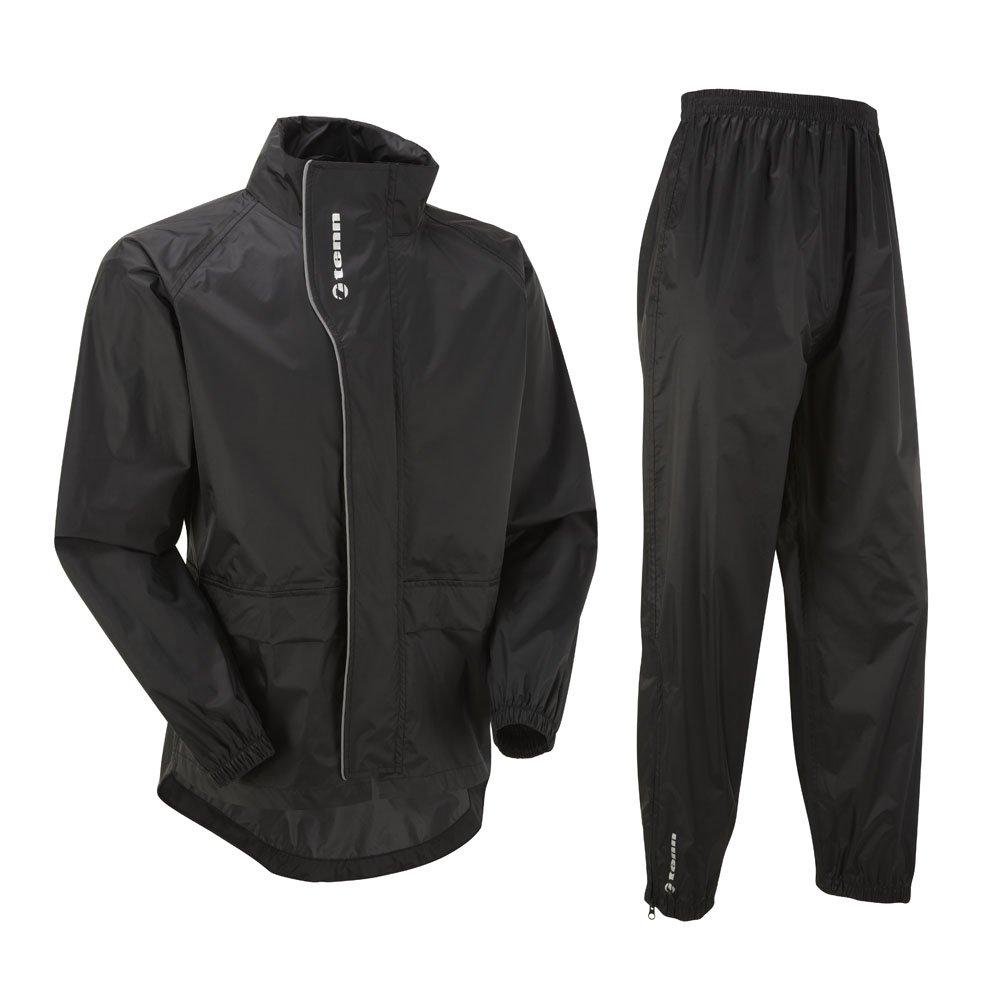 Tenn Unisex Active Cycling Jacket & Trouser Set - Black, Chest 42-44'' - Large