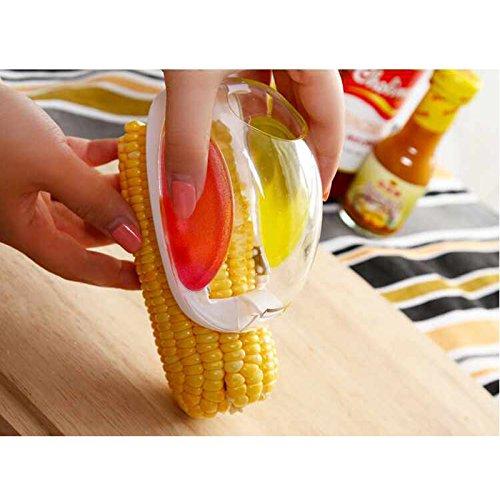 Merssavo Kitchen Vegetable Cutter Gadget Slicer Corn Stripper Separator Peeler Tools