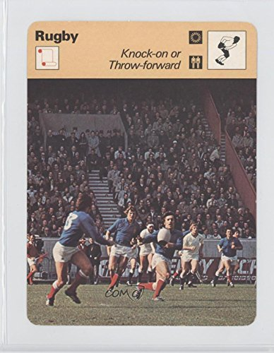 Rugby: Knock-on or Throw-forward COMC REVIEWED Good to VG-EX (Trading Card) 1977-79 Sportscasters - Series 21 - Geneva C #21-20