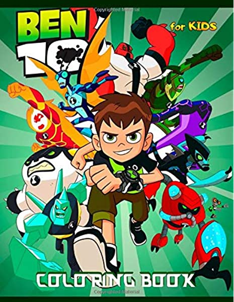 Ben 10 Coloring Book: High Quality Coloring Pages: Press, Colordom:  9798617948723: Amazon.com: Books