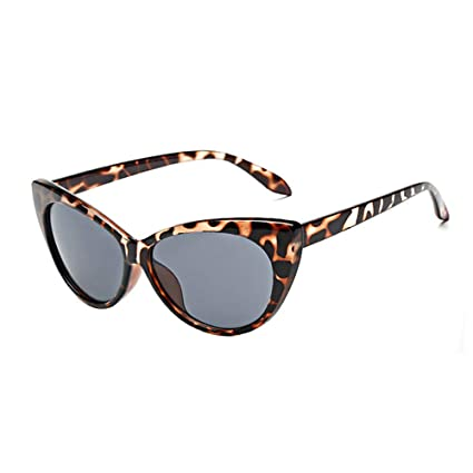 22d4ecd785375 Amazon.com  YEZIJIN Women Ladies Cat Eye Retro Vintage Style Rockabilly  Sunglasses Eye Glasses