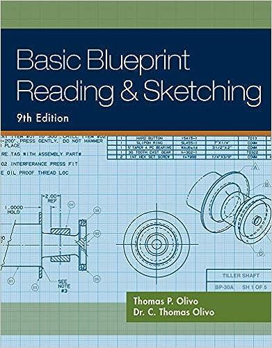 Basic Blueprint Reading And Sketching Thomas P Olivo C Thomas