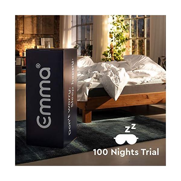 Emma Original Materasso Matrimoniale 160x190 - Eletto Prodotto dell´Anno 2020 - Altezza 25cm - Memory Foam Traspirante… 7 spesavip