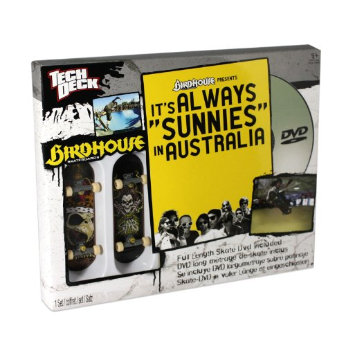 Tech Deck Sk8Shop DVD with Board Birdhouse/Tony Hawk (Packaging Style Varies)