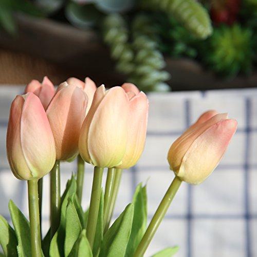 COOBL-Artificial-silk-flower-High-grade-decorative-tulip-flower-wedding-bouquet-bride-holding-garlands-vine-DIY-Floral-art-plant-bride-Home-Decor20pcs-champagne