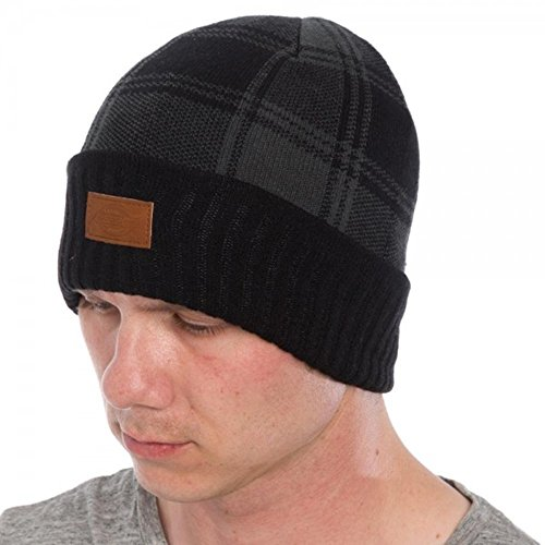 Dickies Core 874 Icon Cuff Knit Beanie Cap (Plaid Black)