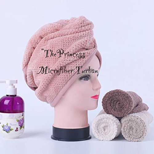 ThePrincess Japanese Polyester Cotton Women Bathroom Super Absorbent Quick-drying Bath Towel Hair Dry Cap Salon Towel 23x60cm Christmas Gift - Sale Prada.com