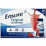 Ensure Regular Strawberry Shake,24 pk./8 fl.oz. (pack of 6)