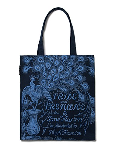 Out of Print Pride and Prejudice Tote Bag, 15 X 17 (Jane Austen Tote Bag)