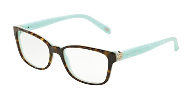 Tiffany & Co. Für Frau 2097 Black / Blue Kunststoffgestell Brillen, 52mm