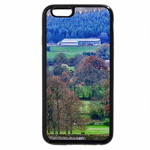 iPhone 6S / iPhone 6 Case (Black) entrance to castle in the french countryside hdr