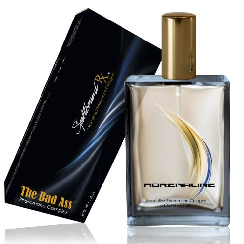 'BAD ASS' Masculine Pheromone Cologne with the 'ADRENALINE' Fragrance From SpellboundRX - The Intelligent Pheromone Choice for Intelligent People. GUARANTEED!