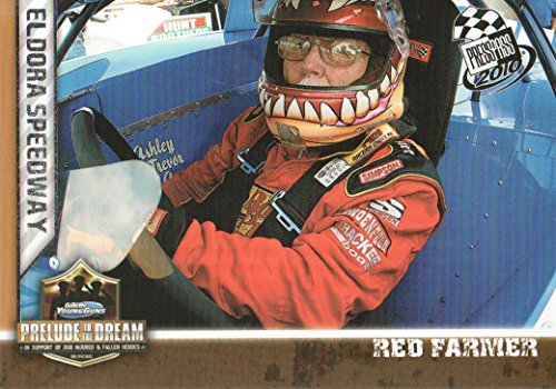2010 Press Pass NASCAR Racing #94 Red Farmer's Car Prelude to the Dream ()