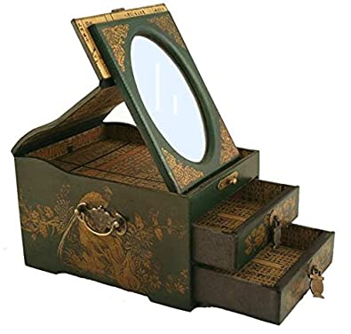 Amazoncom Vintage Chinese Jewelry Keepsake box assorted pattern