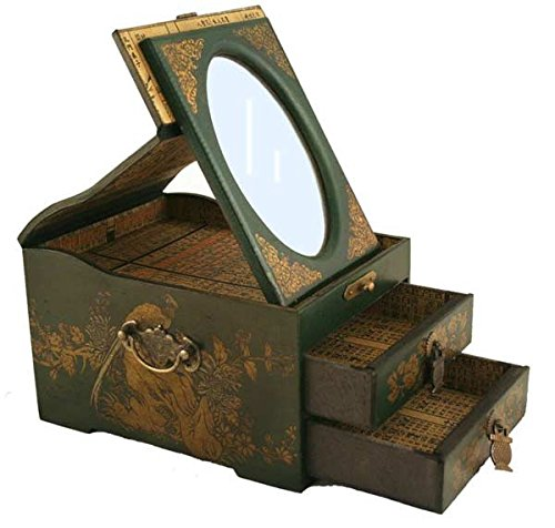 Vintage Chinese Jewelry Keepsake box  assorted pattern