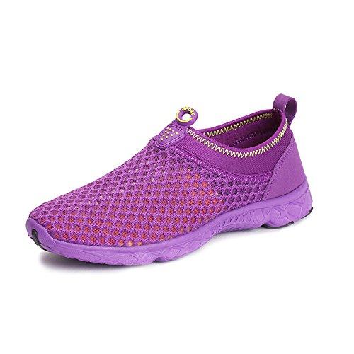 Exercise Water Aqua Beach Shoes Purple Yuanli Shoes Pool Athletic Women's wYHvASxq