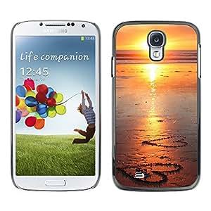 Paccase / SLIM PC / Aliminium Casa Carcasa Funda Case Cover - Sunset Beautiful Nature 107 - Samsung Galaxy S4 I9500
