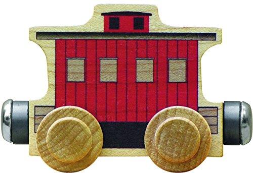 NameTrain Classic Caboose Car - Made in USA