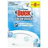 Toilet Duck 5-in-1 Fresh Gel Discs Marine, 6 Discs