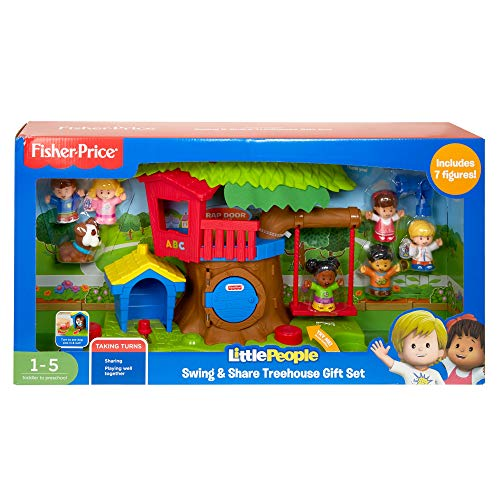 Little People Swing & Share Treehouse Gift Set