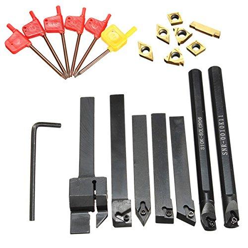 farwind 7 10 mm sdncn1010 F07 sclcr1010 F06 SER1010H11 mgehr1010– 2 sdjcr1010 F07 snr-001 K11 s10 K-sclcr06-Drehen langweilig Bar Werkzeughalter Set mit T8 Schlü