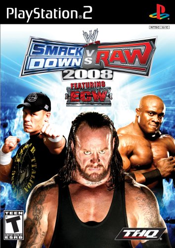 WWE SmackDown vs. Raw 2008 - PlayStation - Wwe Ps2