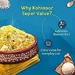 Kohinoor Super Value Basmati Rice, 1 Kg + 20% Extra | Authentic Basmati Rice