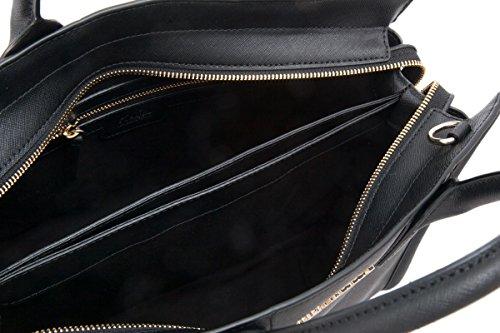 Descuento Con Paypal La Venta 2018 Más Reciente Borsa a mano Karl Lagerfeld Klassic in pelle saffiano nera Nueva Llegada De La Manera Precio Barato Al Por Mayor En Línea y9azP23