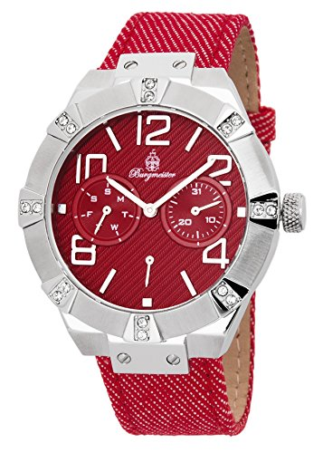 Burgmeister Women's BM611-144 Analog Display Quartz Red Watch