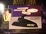 U.S.S. Enterprise NCC-1701 Lighted Figurine, Featuring the Voice of William Shatner and the Star Trek Musical Theme 47056 1993