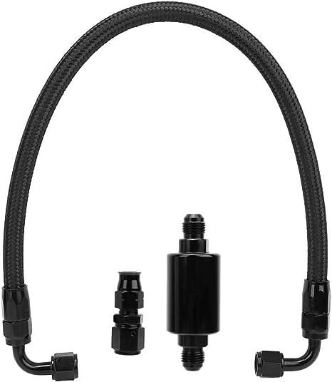 Car Fuel Hose Line Fittings Inline Filter for Honda Civlc EK B//D//H Series