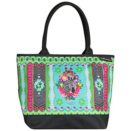 Nitsche Zebra´s Mujer Garden Maria Arte Bandolera Motivo Eva Lilienfeld® Compras Von Bolsa X6vwqfqz
